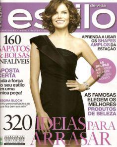Estilo - capa abril 2009